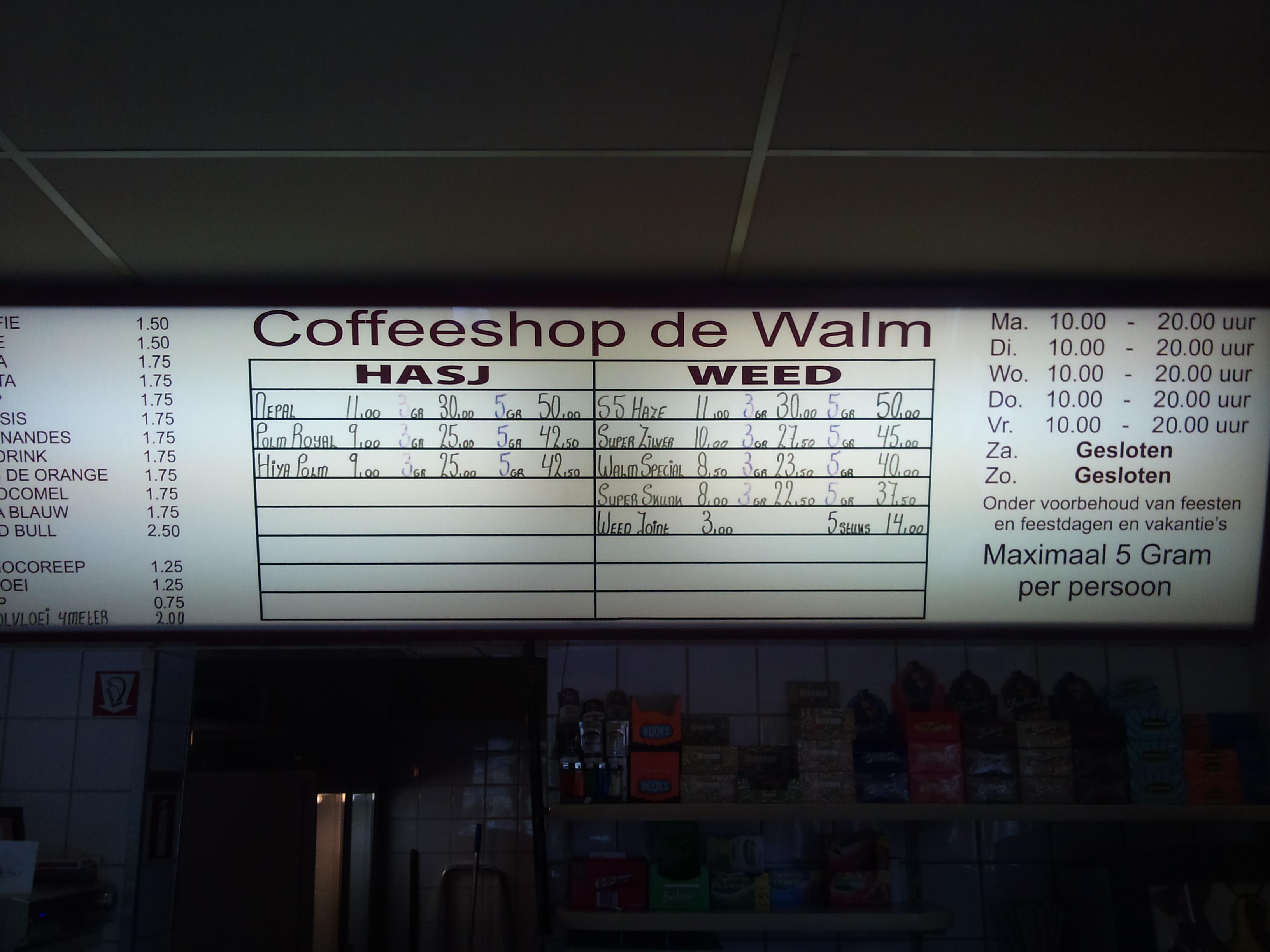 In venlo coffeeshop Amsterdam Coffeeshop