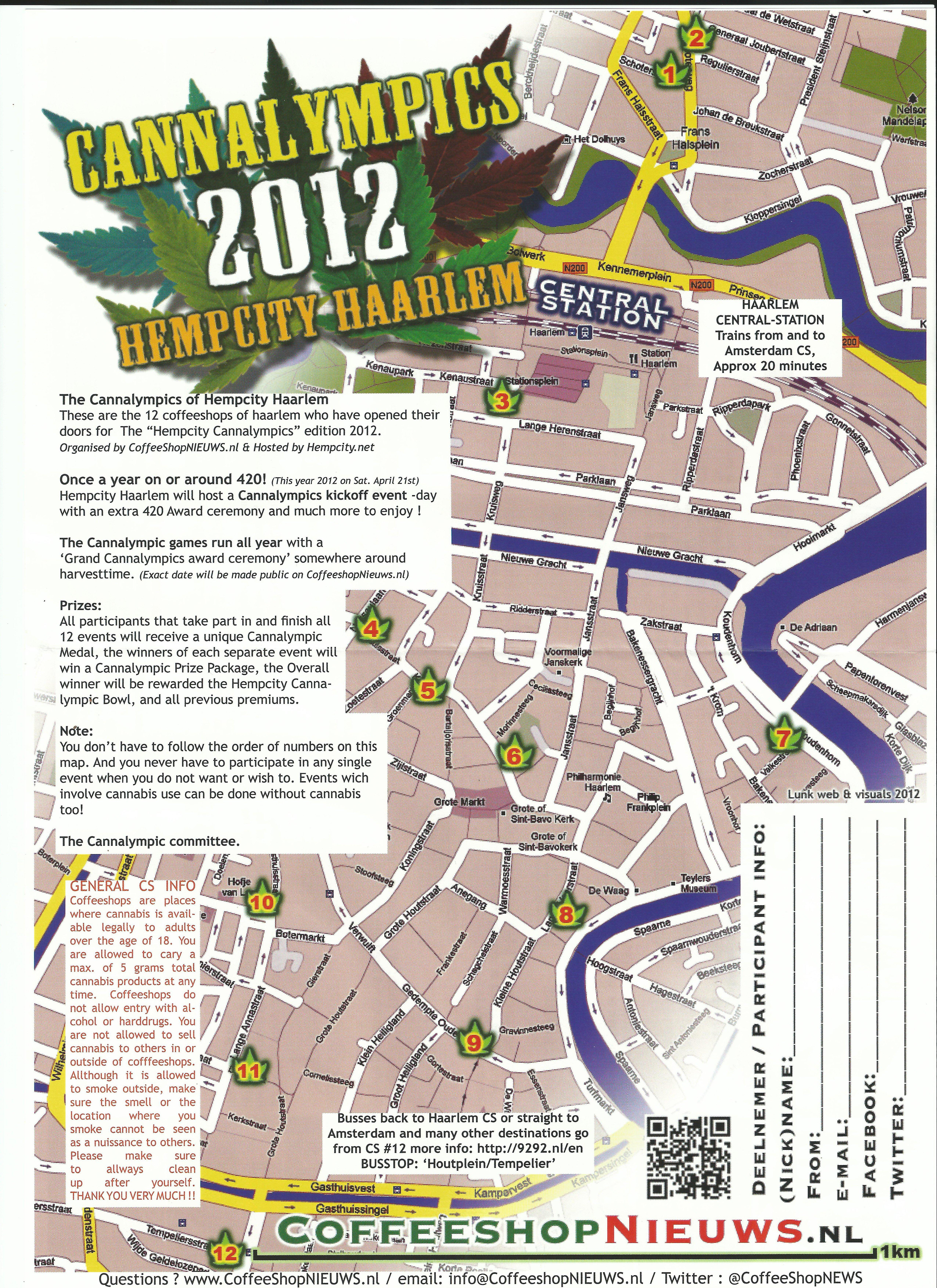 Haarlem Amsterdam Coffeeshop Directory Forums