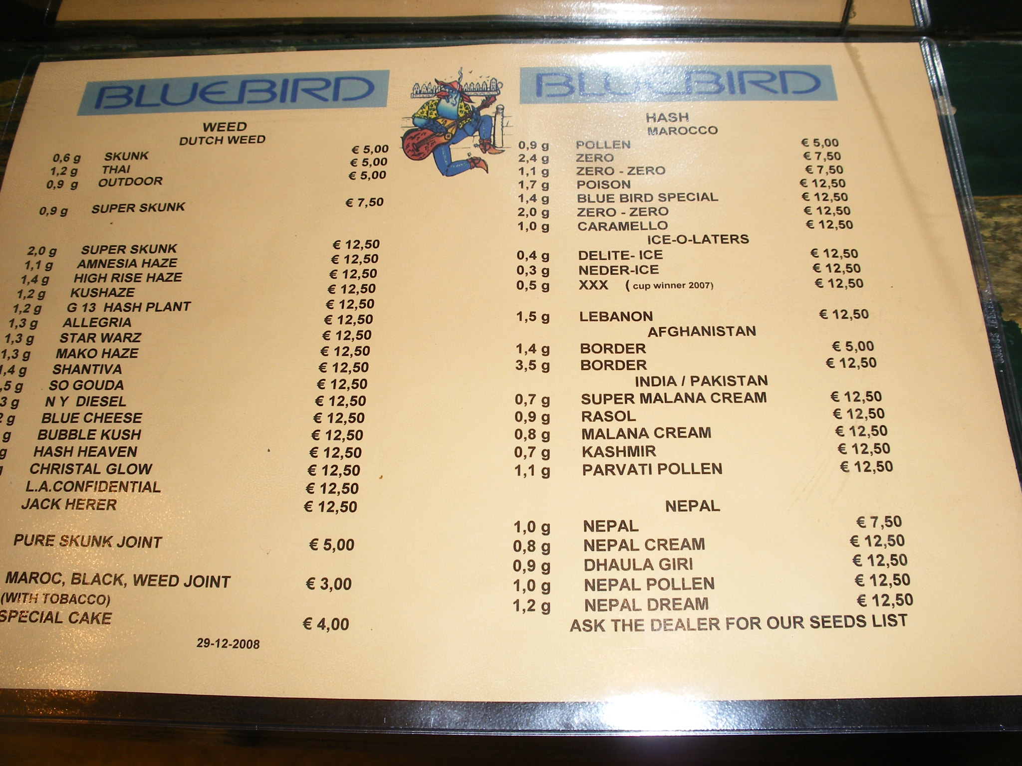 Coffeeshop bluebird click image for full size publicscrutiny Image collections