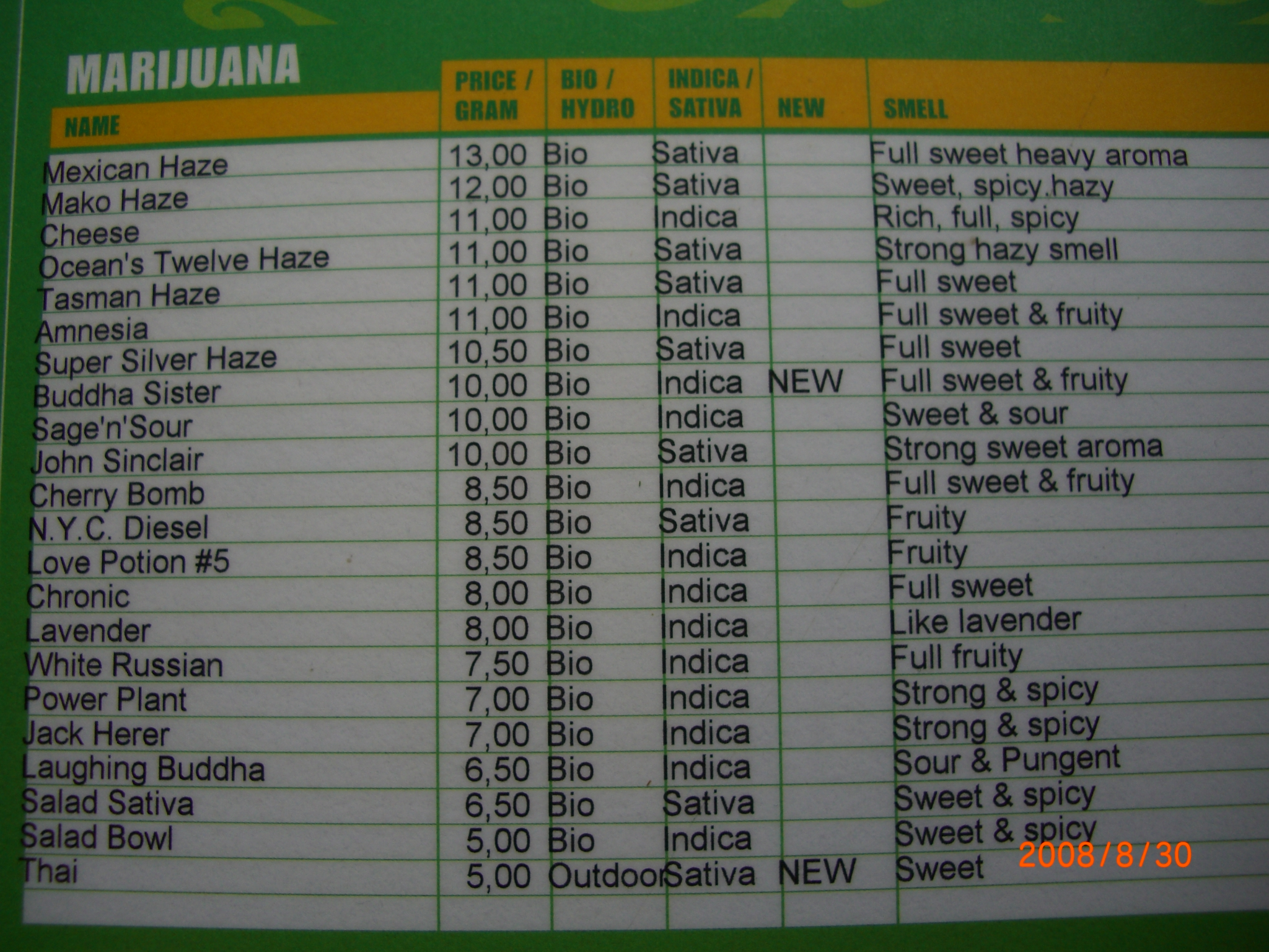 how to order weed in amsterdam