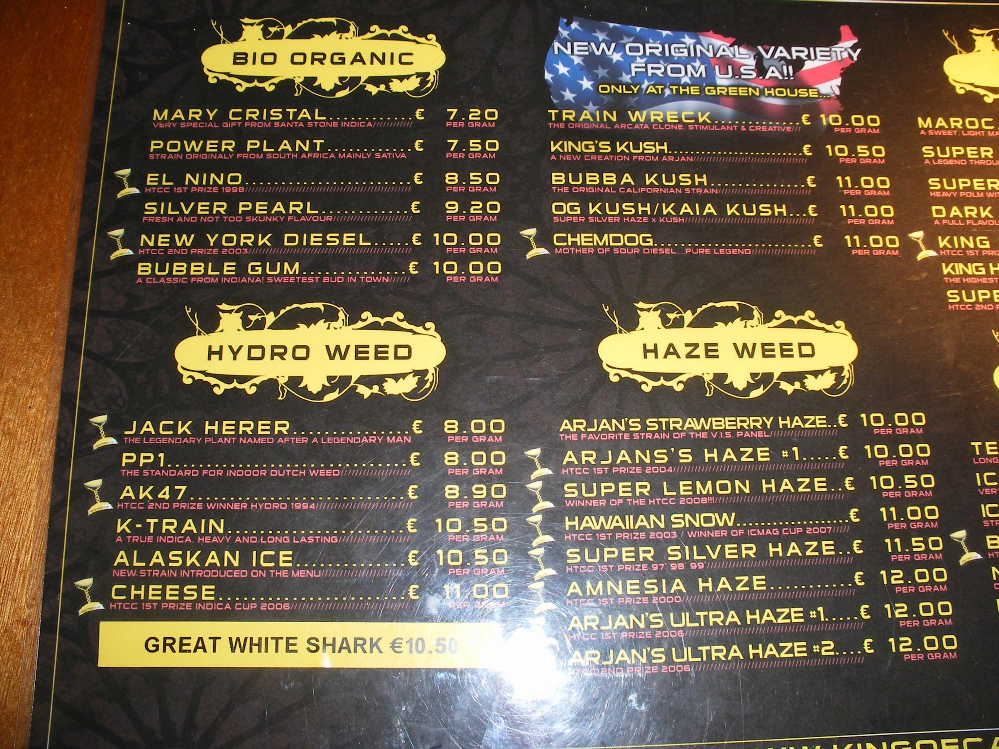 Amsterdam online weed shop