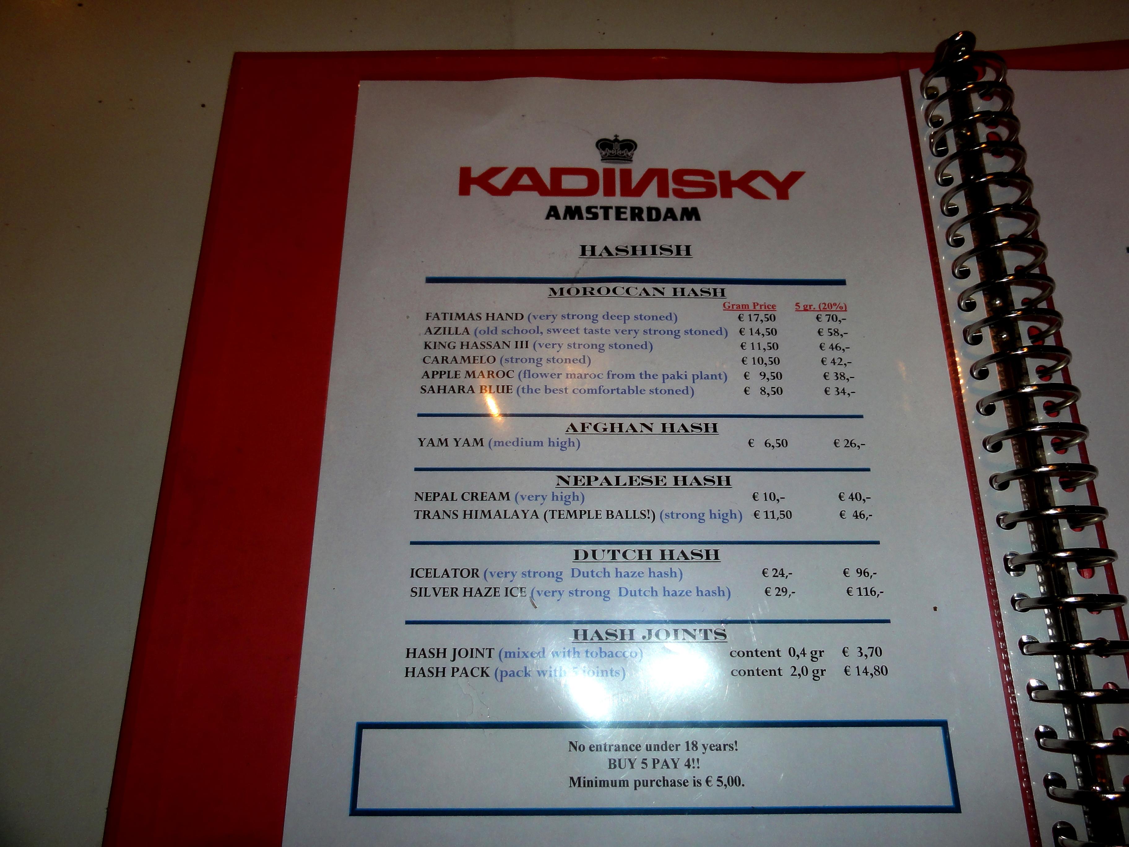 coffeeshop kadinsky